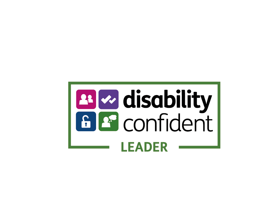We're a Disability Confident Leader